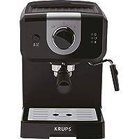 Krups Opio XP320810 - Cafetera, 15 bares de presión, calentador de taza y espumador