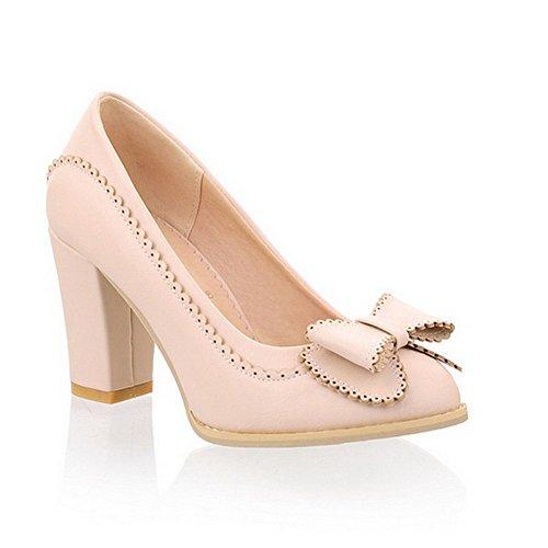 Balamasa, Para Mujer, Con Tacones Altos, Zapatos Beige