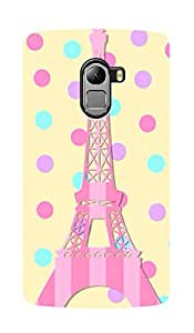 ZAPCASE Printed Back Case for LENOVO K4 NOTE - Multicolor