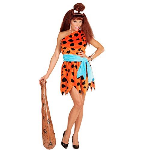 Wilma Feuerstein Kostüm Damenkostüm Steinzeit Neandertaler Frau Höhlenfrau Höhlenmensch Damen Verkleidung Flinstones Karnevalskostüm Neandertalerin Faschingskostüm