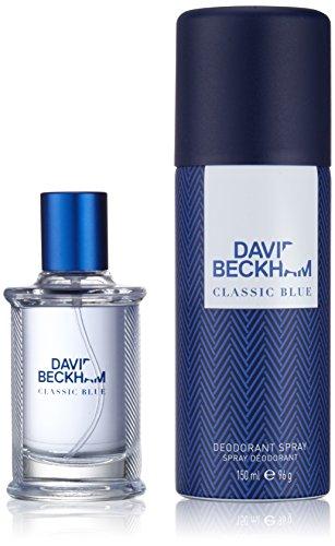 David Beckham Classic Blue Eau de toilette (40ml)+Déodorant spray (150ml) pour homme