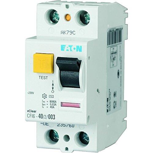 EATON 235760 Interruptor Diferencial clase AC, 40A, 2P, 30mA