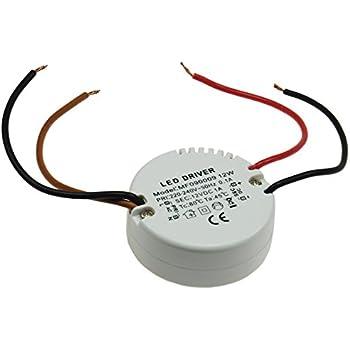 LED Transformator Trafo Treiber 12W Stabilisiert Rund für Schalterdosen