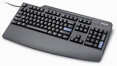 Lenovo 54Y9414 Tastatur USB Deutsch Schwarz, 54Y9414