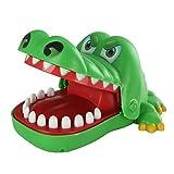 Crocodile - SODIAL(R)Verde Clasico Juego de cocodrilo de mano mordido
