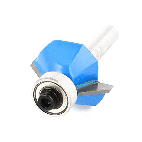menuiserie 45 degré 1/10,2 cm X 3/20,3 cm Extrémité Roulement Fraise à chanfreiner