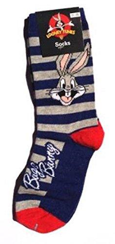 Kinder Socken verschiedene Motive (25-30, Bugs Bunny) -