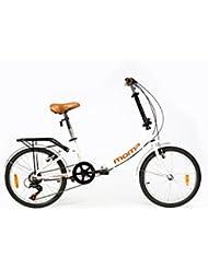 """MOMA Folding Bikes, Wheels 20"""" Shimano, Aluminium Bicycle, Unisex Adult"""