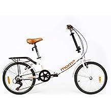 "Moma Bikes Bicicleta Plegable ruedas 20"" SHIMANO 6 vel. Aluminio"