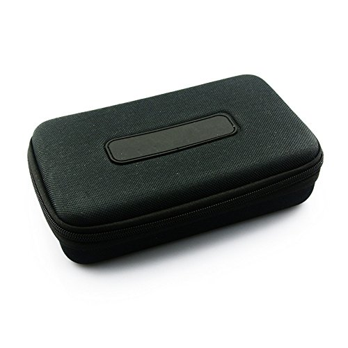 VEVER Portable HeadPhone Headset Earphone Carry Case Box Pouch Bag for Sennheiser PX100 PX100-II PX200 PX200-II PX80 Headphone (Black)  available at amazon for Rs.1466
