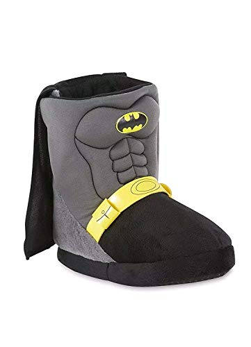 DC Batman Boys Boot Slippers Toddler/Little Kid