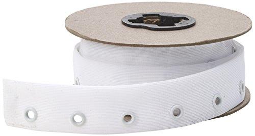 Schnürung Trim (PEARL Öse Seitennaht Schnürung Tape, 6Yd, weiß)