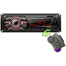 LSLYA Bluetooth Car Est/éreo Pantalla t/áctil capacitiva HD 7 Pulgadas 2 DIN In-Dash MP5 Reproductor de MP3 Audio Video Amplificador con Manos Libres//FM Am RDS Radio//USB//SD//AUX//Controles en el Volante