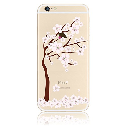 Coque iPhone 5s Coque Apple iPhone SE 5 5s Silicone Transparente Rigide Motif Etui Housse TPU Souple Sunroyal® Ultra-Light Ultra-Mince Case Cover de Protection Pare-Chocs Anti-Choc Bumper pour iPhone  Motif 19