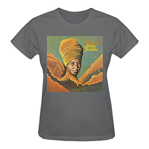 The Gospel Soul of Aretha Franklin Summer Loose Crew Neck T-shirt For Damen XX-Large (Shirt Loose Crew)