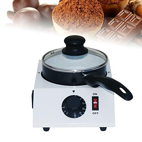 WUPYI2018 Elektrische Schokoladenschmelzer, DIY Schokolade Schmelzgerät Käse Süßigkeiten Schmelzmaschine Heizmaschine Heizung Warmer Keramik Antihaft 40 Watt