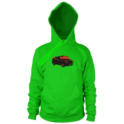 Team Van - Herren Hooded Sweater, Größe: M, Farbe: grün