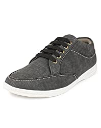 Do Bhai ST-010 Fashionable Smart Casual Shoes for Men (UK7, Grey)
