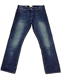 Firetrap daay16rom-g2Chevalière Lavage Stanton Jeans Coupe Droite pour homme jean bleu Smart Casual