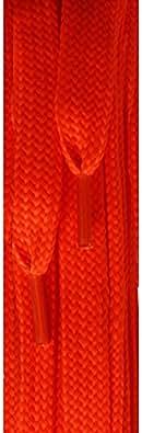 Ringelspitz , Lacets Orange  Neon Orange 120 cm