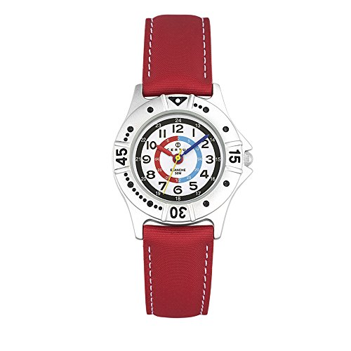 CERTUS JUNIOR Unisex Child Analogue Quartz Watch with PU Strap 647438