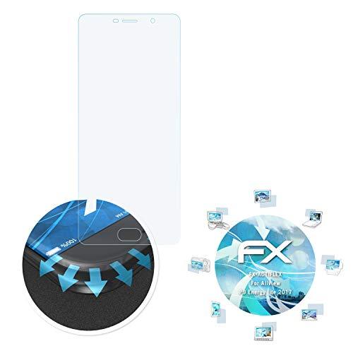 atFolix Schutzfolie passend für Allview P9 Energy lite 2017 Folie, ultraklare & Flexible FX Bildschirmschutzfolie (3X)