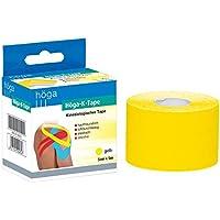 Preisvergleich für Höga Pharm kinesiologischer Tape, 5 cm x 5 m, gelb, 1er Pack (1 x 87 g)