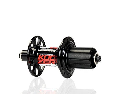 Nero grigio RS39072clic CNC Road bike mozzo posteriore 10* 130MM per SRAM 8-11S Shimano 9-11S - 130 Mm Mozzo Posteriore