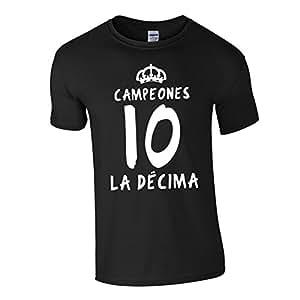 Real Madrid La Decima T-Shirt (Black)