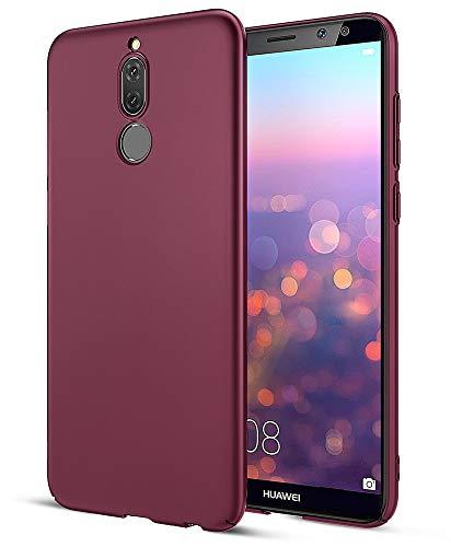 EIISSION Case Kompatibel mit Huawei Mate 10 Lite Hülle, Hardcase Ultra Dünn Huawei Mate 10 Lite Schutzhülle aus Hart-PC Case Cover Handyhülle für Huawei Mate 10 Lite,Lila