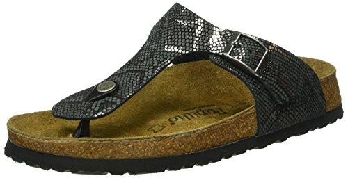 Papillio Gizeh, Heels Sandals Donna, Nero (Royal Python Black), 40 EU