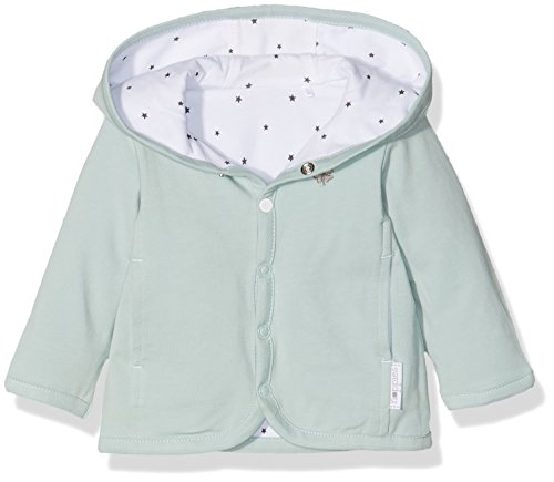 Noppies Unisex Baby U Cardigan Jrsy REV Nusco-67380 Strickjacke, Grau (Grey Mint C175), 56 (5-knopf-weste)