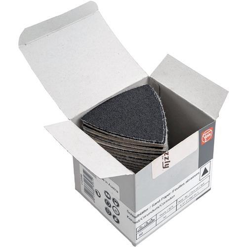 Preisvergleich Produktbild FEIN Schleifblätter | Korn 60 | Schleifdreiecke ungelocht | Inhalt 50 Stück zu Multimaster, Zubehör für Schleifer