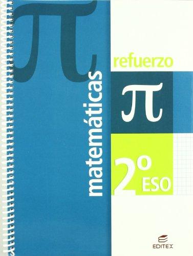 Refuerzo Matemáticas 2º ESO (Cuadernos de Refuerzo) - 9788497714303