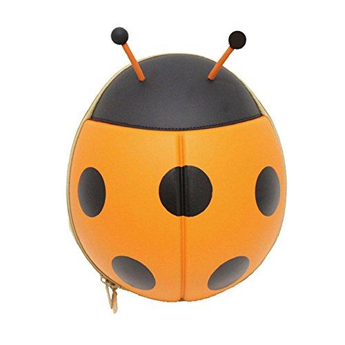 EVA impermeabile bambino zaino bambini zaini scuola borsa zaino bambini Toddler zaino cute 3D coccinella zaino Orange