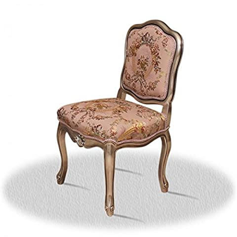 Chaise baroque Louis XV rocaille style antique AlCh0009H
