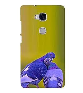 PRINTSHOPPII CUTE GIRL Back Case Cover for Huawei Honor 5X