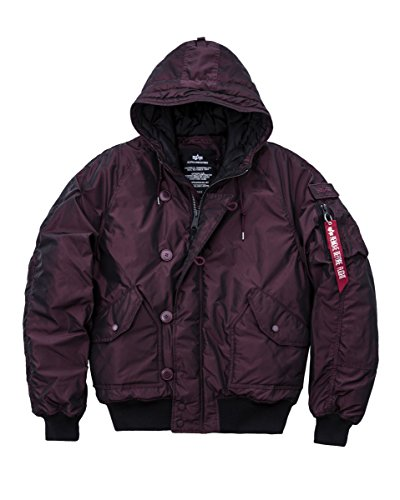 Alpha Industries -  Giacca - Uomo Bordeaux