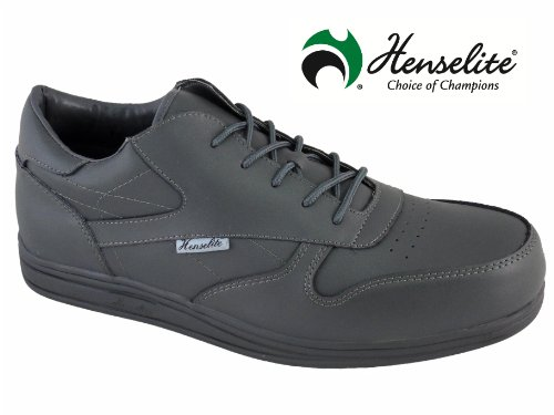 mens-henselite-victory-sport-grey-lace-up-leather-lawn-bowls-shoes-uk-size-11