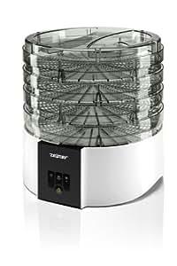 Zelmer Сушилка для овощей и фруктов / 520 Вт, 4 секции, 11 литров, 2 уровня мощности, электронное управление, белый - fruit dryers (4 секции, 11 литров, 2 уровня мощности, электронное управление, белый)