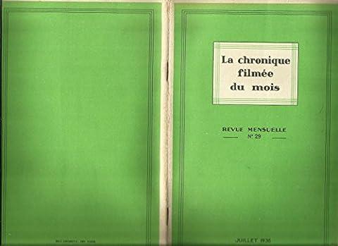 la chronique filmée du mois N° 29 de juillet 1936