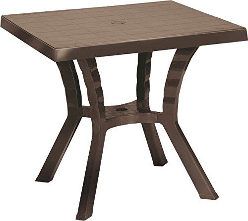 Tavolino Rattan Da Giardino.Dimaplast Tavolo Tavolino Rattan Da Giardino Esterno 79x79x72 Cm