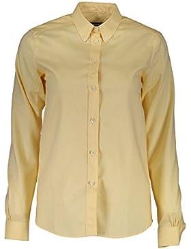 Gant 1403.432133 Camisa con Las Mangas largas Mujer Amarillo 768 40
