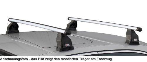 VDP Alu Relingtr/äger CRV135 kompatibel mit Opel Combo ab 12 abschliessbar