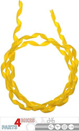 P4B Außenhüllen Bänder-Spiral-1 M gelb 1 Meter