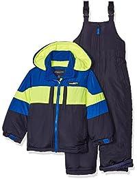 London Fog Little Boy's 2-Piece Snow Bib and Jacket Snowsuit