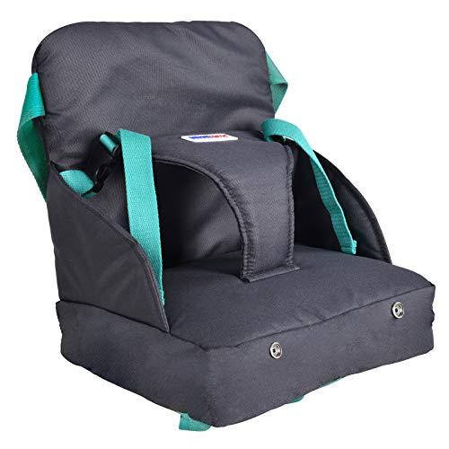 Infantastic Boostersitz fur Kleinkinder   Praktischen aufblasbarer kindersitz   Leicht in der Tasche verstaubar, einfach auf dem Stuhl montierbar   Reisesitz, Tragbar Sitzerhöhung mit Luftpolster