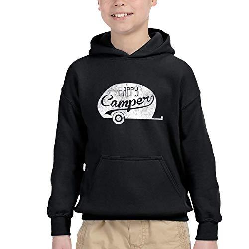 WBinHua Bodysuits Baby Body, Happy Camper Vintage Unisex Kids' Long Sleeve Hoodies Pullover Sweatshirts -