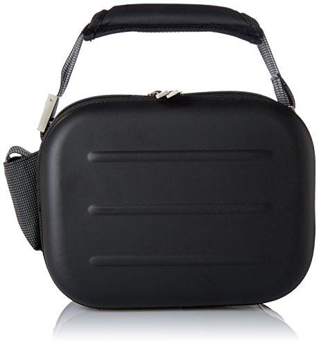Valira Mobility Lunchtasche mit zwei auslaufsicheren Behältern aus Satin, Schwarz Mini Mini schwarz