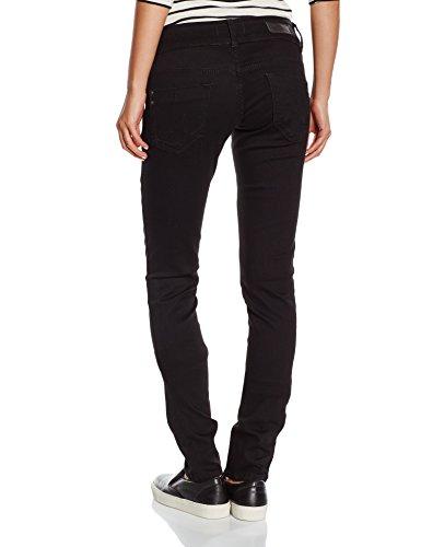 LTB Jeans Damen Slim Jeanshose MOLLY Schwarz (BLACK TO BLACK WASH 4796.0)